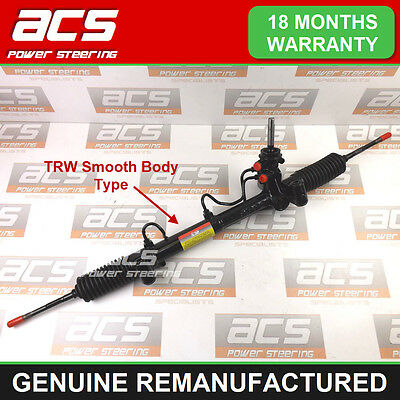 VAUXHALL ZAFIRA MK1 POWER STEERING RACK 1999 TO 2005 -RECONDITIONED (TRW Smooth)