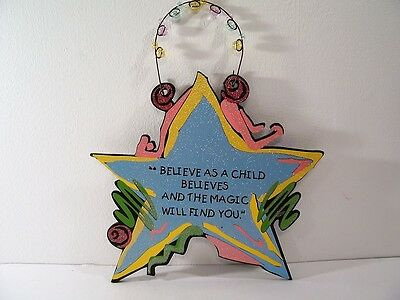 Inspirational Sign Believe As A Child Believes Shelia's