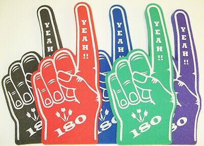 Darts Yeah 180  Giant Foam Hand Pointy Finger