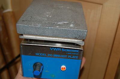 VWR  model 210 hotplate hot plate mini lab 325W 115v  laboratory