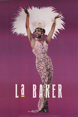 POSTER:FAMOUS PEOPLE : JOSEPHINE BAKER - La BAKER - FREE SHIPPING! #1849 RC54 G