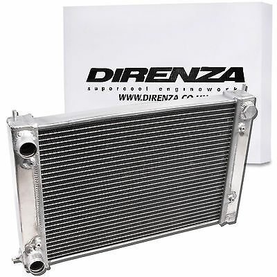 Direnza Aluminium 42Mm Race Radiator For Vw Golf Mk2 Scirocco Corrado Gti 8V 16V