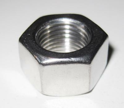 "1/4"" UNF Full Nut - A2 Stainless Steel (Qty 10)"