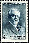 Stamp / Timbre De France Neuf 1942 Luxe N° 551 ** Physicien Andre Blondel