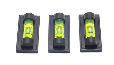 Three Magnetic Magnet Bubble Spirit Level 25mm Vial NEW Use with Tripod Etc.