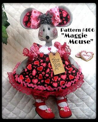 "~~Primitive ""Maggie Mouse"" PATTERN #406 ~~ from Ginger Creek Crossing"