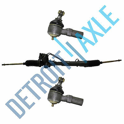 COMPLETE POWER STEERING RACK & PINION ASSEMBLY + 2 Outer Tie Rod Ends for FORD