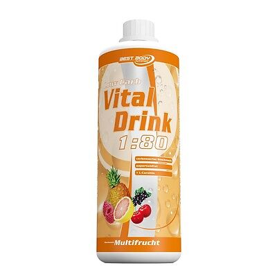 Best Body Nutrition Low Carb Vital Drink 1000 ml Flasche (15,30 EUR pro 1000 ml)