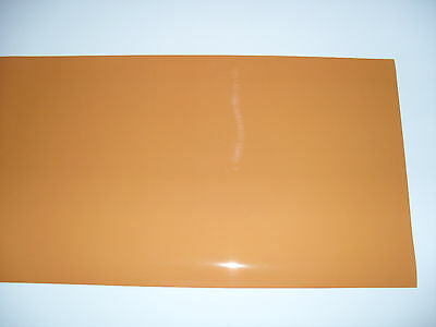 "204 FULL ORANGE Lighting Filter Colour Gel Theatre Light 48"" X 10"" 122cm X 25cm"