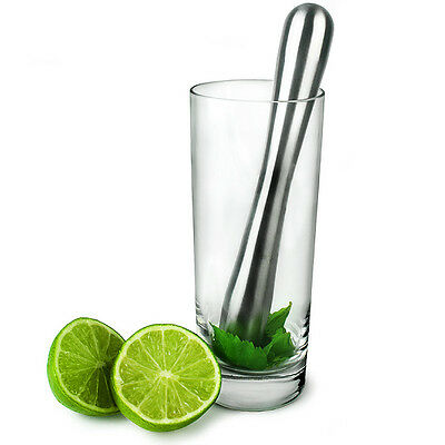 Stainless Steel Muddler | Cocktail Muddler for Mojitos