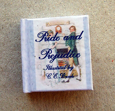 Dollshouse Miniature Book - Illustrated Pride & Prejudice