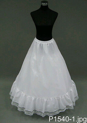 A-LINE Petticoat Slip Bridal Gown Dress Crinoline Skirt