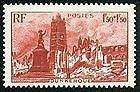 STAMP / TIMBRE DE FRANCE NEUF 1945 LUXE N° 744 ** PLACE JEAN BART à DUNKERQUE