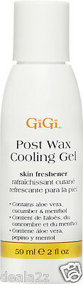 Small 2oz BUY 2 GET 1 FREE Gigi AFTER WAX COOLING GEL salon hair waxing product
