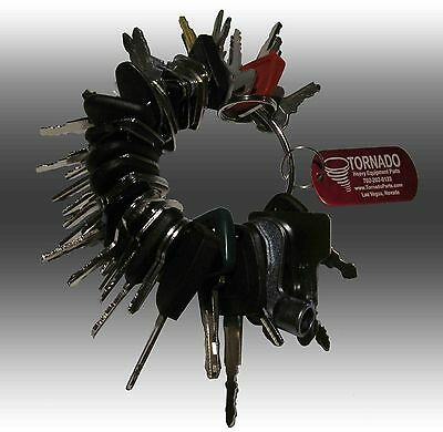 45 Keys Heavy Equipment / Construction Ignition Key Set