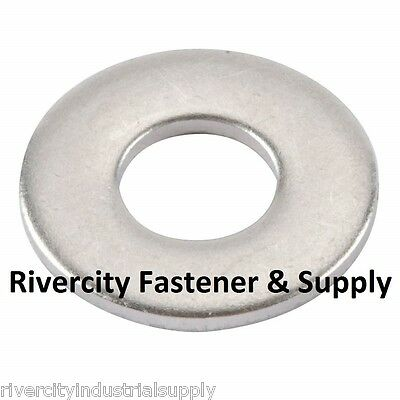(500) M4 or 4MM Metric Stainless Steel Flat Washer A2 / 18-8 / SS