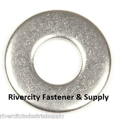 (100) M6 or 6MM Metric Stainless Steel Flat Washer A2 / 18-8 / SS 100 Pieces