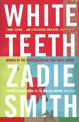 White Teeth by Zadie Smith (English) Paperback Book Free Shipping!
