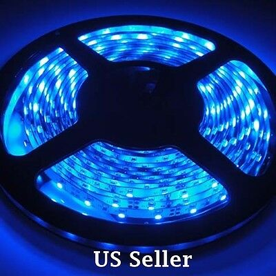 Blue LED light strip by 10 cm pieces for 99 cents only, buy only what you need
