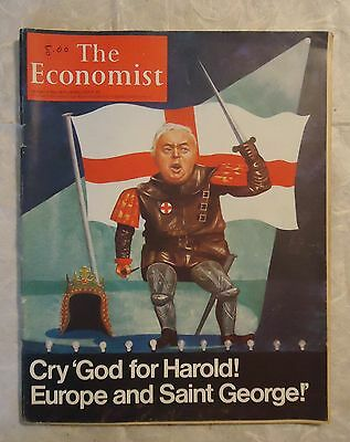 Rivista The Economist April26/1975 Cry God For Harold Europe And Saint George