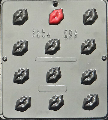 Cybrtrayd V036 Will You be Mine//Lets Kiss Valentine Chocolate Candy Mold