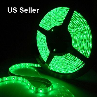 Green LED light strip by 10 cm pieces for 99 cents only, buy only what you need