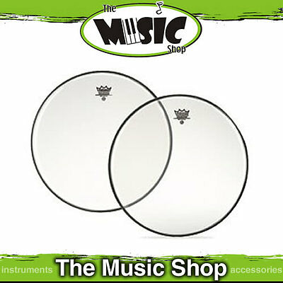 "New Remo 12"" Clear Ambassador Drum Skin -12 Inch Drum Head - BA-0312-00"