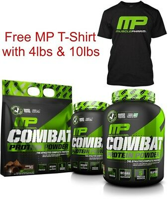 Musclepharm Mp Combat Protein Powder Shake Lean Muscle 907G 1.8Kg 4.5Kg