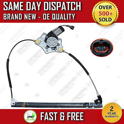 Renault Clio 2 Door Right Driver Side Electric Window Regulator With Motor 98 On