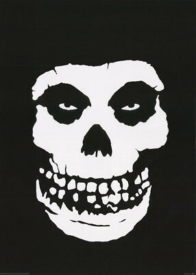 Poster : Music :  Misfits - Skull  -  Free Shipping ! #pp251  Rc38 P