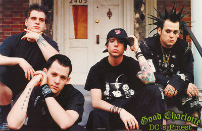Poster :music : Good Charlotte - Dc's Finest -   Free Shipping !  #6579   Rc38 W