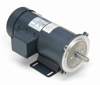 3/4 hp 1800 RPM 90 Volts DC 56C Frame TEFC Leeson Electric Motor # 098032