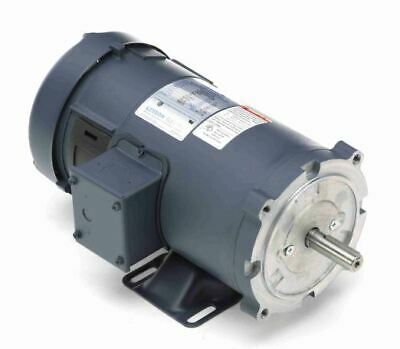 1 hp 2500 RPM 90 Volts DC 56C Frame TEFC Leeson Electric Motor # 108020