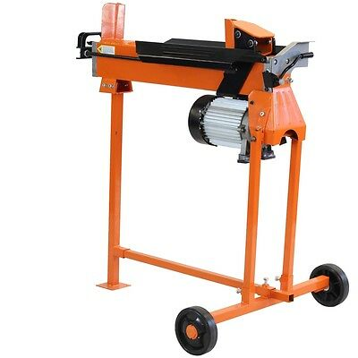 Electric Log Splitter Wood Timber Cutter Hydraulic Axe Free Stand Fm10T