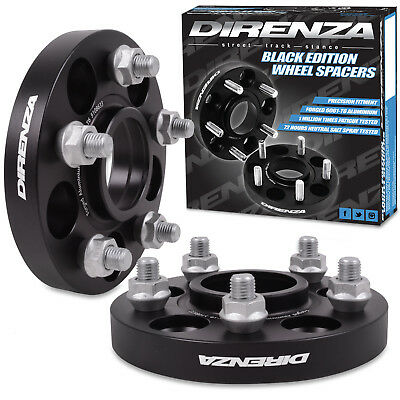 DIRENZA FORGED ALLOY 20mm 5x108 63.3mm WHEEL SPACERS FOR FORD FOCUS ST RS MONDEO