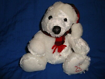 Christmas Sears charity 2002 Plush Polar Bear FLURRY