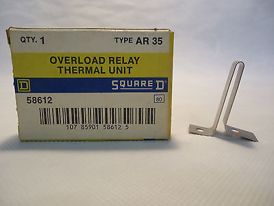 New In Box Square D Ar35 Thermal Unit Overload Relay