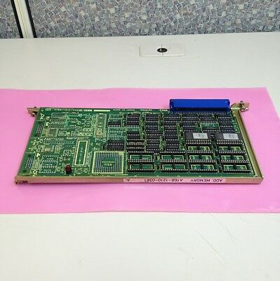 Fanuc PCB Board A16B-1210-0381 Additional Memory Board.