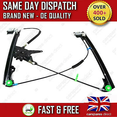 Vw Golf Mk3 Vento Front Right Driver Side Electric Window Regulator 1991-1998