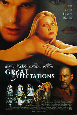 GREAT EXPECTATIONS MOVIE POSTER 2 Sided ORIGINAL FINAL 27x40 GWYNETH PALTROW