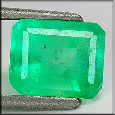 1,810 Cts.  COLOMBIAN GREEN NATURAL SMARAGD / EMERALD - OCTAGON - TOP QUALITÄT !
