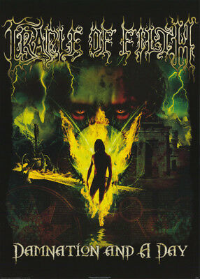 Poster:music: Cradle Of Filth - Damnation  - Free Shipping !! #pp0763  Rc52 G