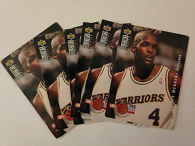 Lot 6 Cartes De Basket Nba Upper Deck Collector's Choice 1994 Pro Files