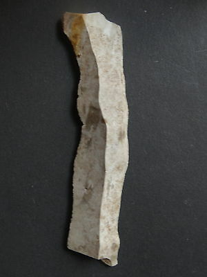 "BLADE /KNIFE FLINT""Paris Basin""  MESOLITHIC / NEOLITHIC / FRENCH PREHISTORY"