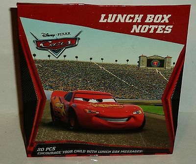 Disney Cars Lunch Bag Notes 5 Designs 20 PCS Encourage Your Child