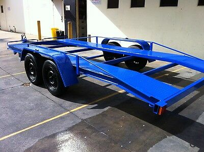 Brand New Car Trailer Tandem Dual Axle 16-Ft Beaver Use4 Race Ford Holden