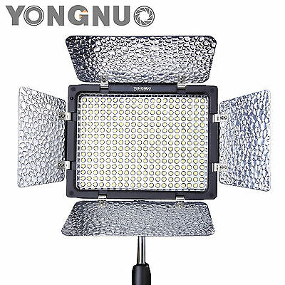 Yongnuo YN-300 LED Illumination Dimming Video Light for SLR Camera + IR Remote