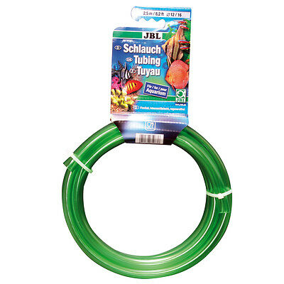 JBL Aquaschlauch GRÜN (Luft) 4/6mm (2,5m) grün-transparent, flexibel Schlauch