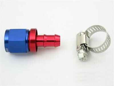 AN -10 AN10 Push-On Hose End fittings to Barb Adaptor Straight JIC 10 7/8x14 UNF