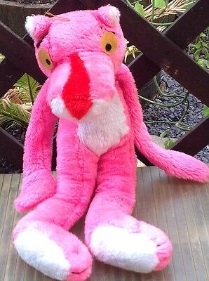 Pink Panther Plush toy 1983 United Artists Corporation Beregoed Speelgoed